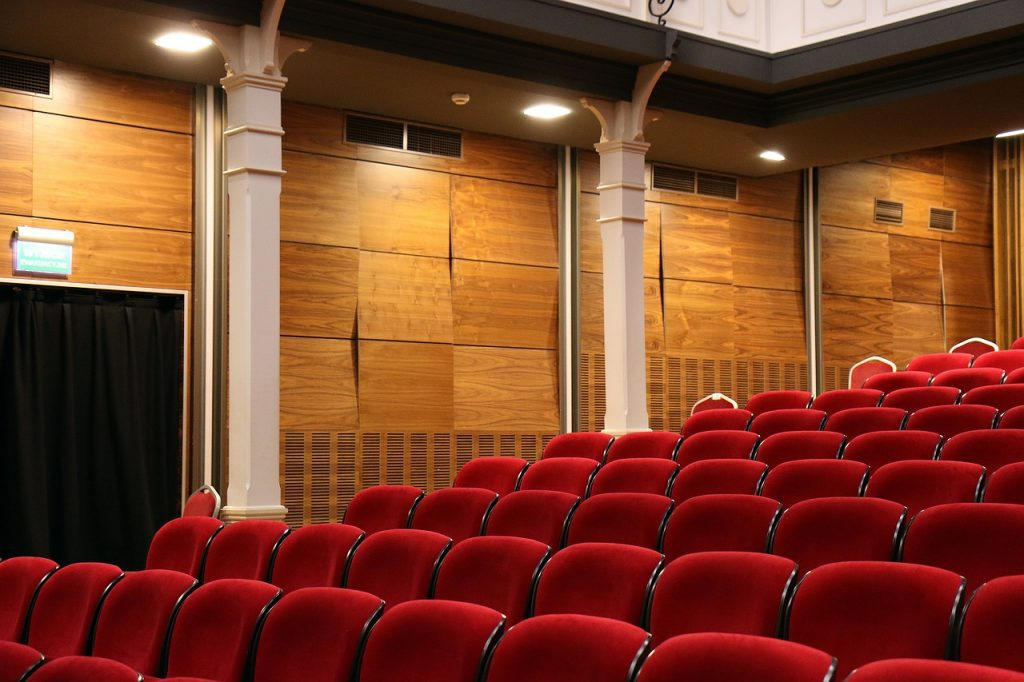 spectacular room, pictures, theater